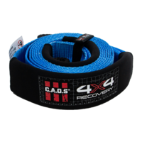 CAOS 10T Tree Saver / Winch Extension / Equalizer Strap 75mm x 5m (Blue)