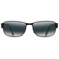 Maui Jim?? Grey Black Coral Matte Black