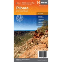 HEMA - Pilbara and Coral Coast Map